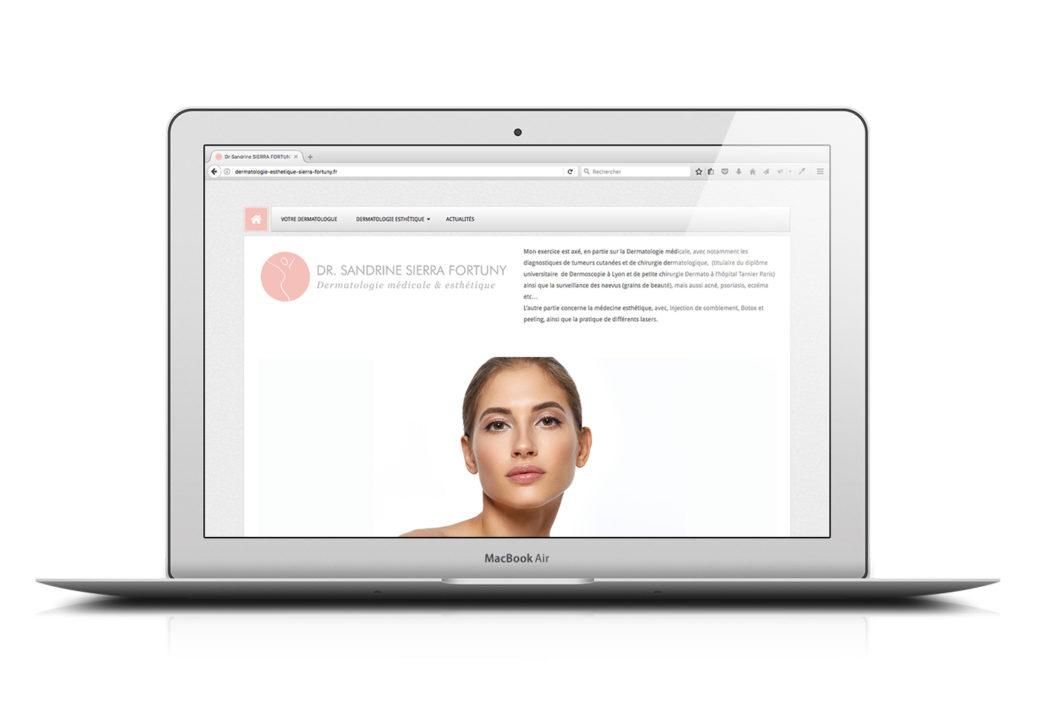 Site web Dr Sierra-Fortuny