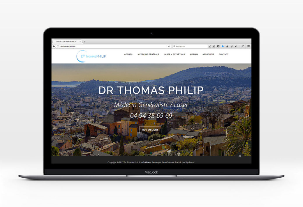 Site web Dr Philip